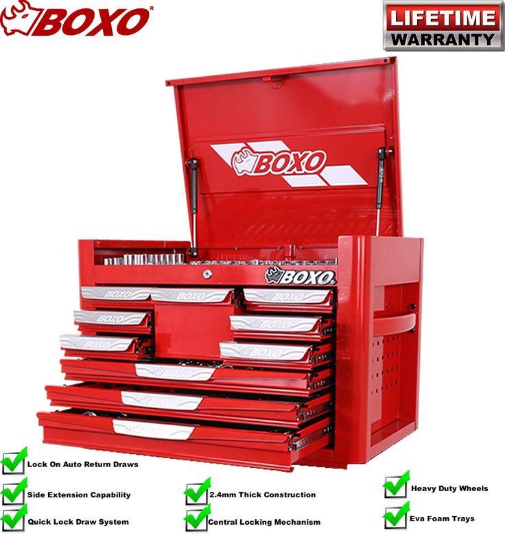 Boxo BOX393 393pce 10 Drawer Mechanical Tool Kit