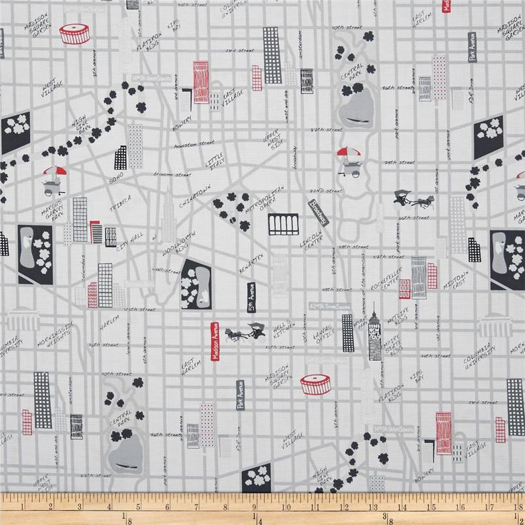 Designed by Greta Lynn for Kanvas in association with Benartex, this cotton print fabric is perfect for quilting, apparel and home décor accents. Colors include black, grey, red and white.