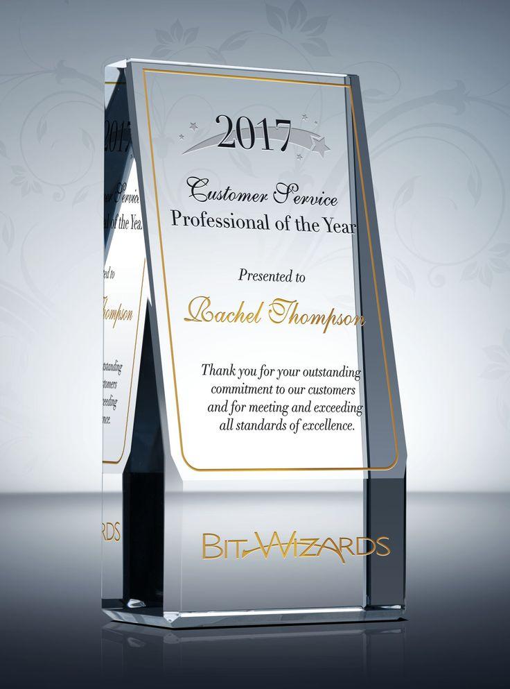 160 best Employee Recognition Awards images on Pinterest - achievement award wording