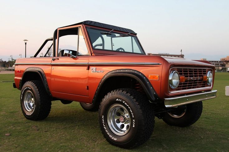 1976 Classic Ford Bronco