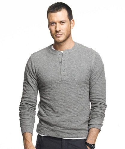 These men's henley shirts are the perfect layer - alone in the fall, and under a cozy sweater in the winter. I just love to snuggle up to one!