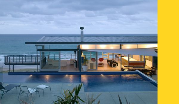 Another Dream house from Bossley Architects NZ - Okitu House, Poverty Bay, NZ