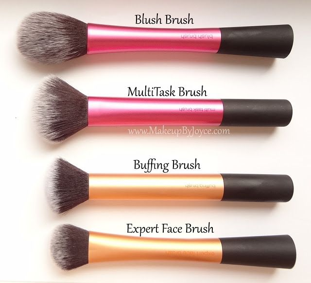 Real Techniques Brush Collection, These stay fluffy for a really long time and makes foundation look flawless