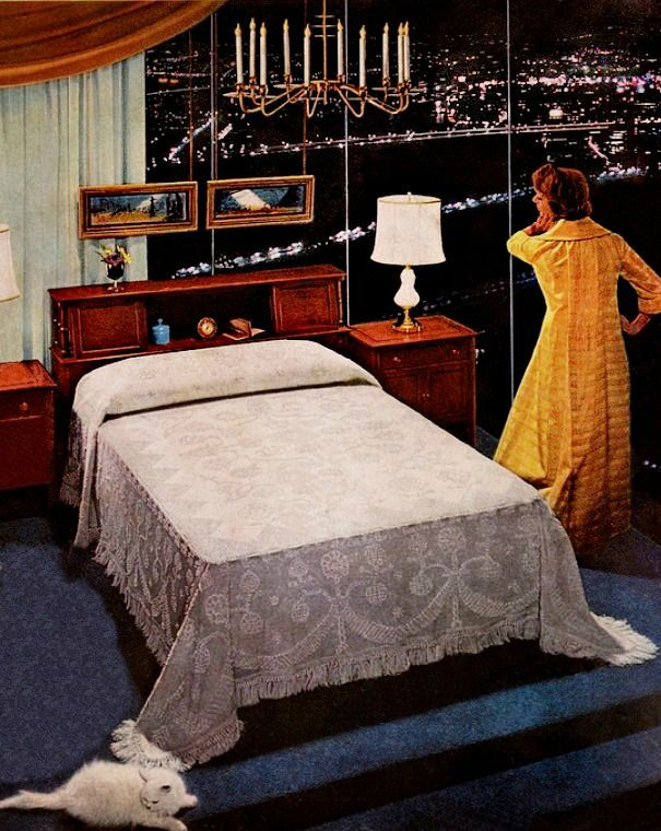 Retro Bedroom Interior Design: 177 Best Images About 1950s Bedroom On Pinterest