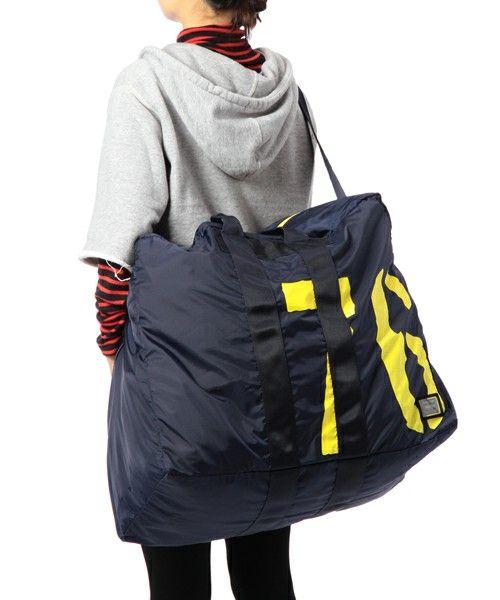 B印 YOSHIDA(×PORTER)(B印 ヨシダ(×ポーター)) - 【成田空港限定】PORTER×B印 YOSHIDA (GS) PACKABLE DUFFLE BAG 76L(ボストンバッグ)|ビームス公式通販[BEAMS Online Shop]