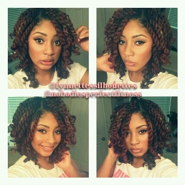 Havana twists / Marley twist...love this look