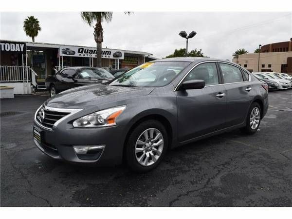 2015 Nissan Altima 2.5 S Sedan 4D Gray