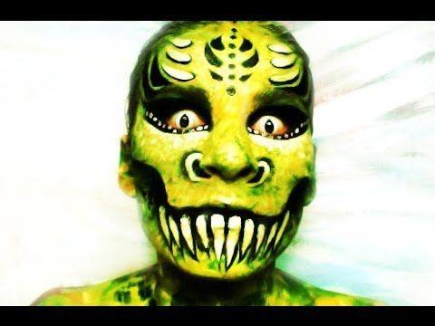Pinterest Halloween Face Paint