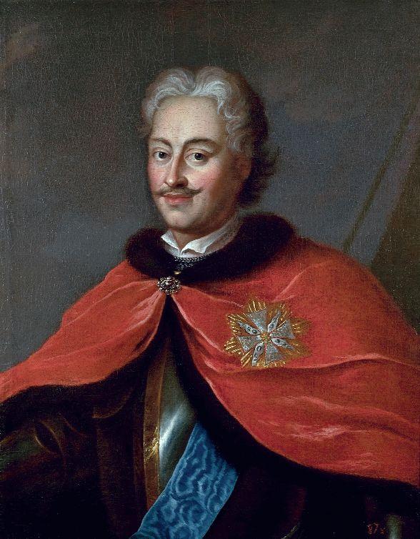 Ádám Mányoki, portret Stanisława Ernesta Denhoffa