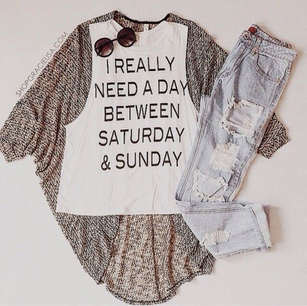 cardigan top jeans instagram clothes cute casual white girly outfit hipster t-shirt