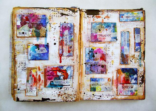 art journal by czekoczyna, via Flickr