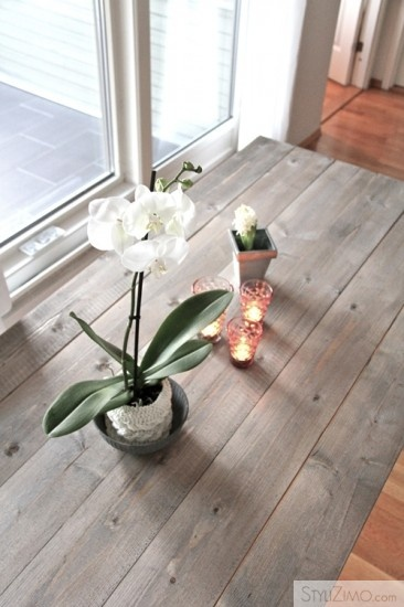 9 best table inspiration images on pinterest driftwood for Can you stain driftwood