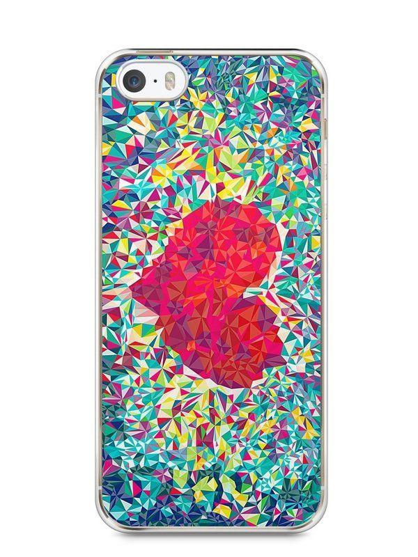 Capa Iphone 5/S Coração Pintura - SmartCases - Acessórios para celulares e tablets :)