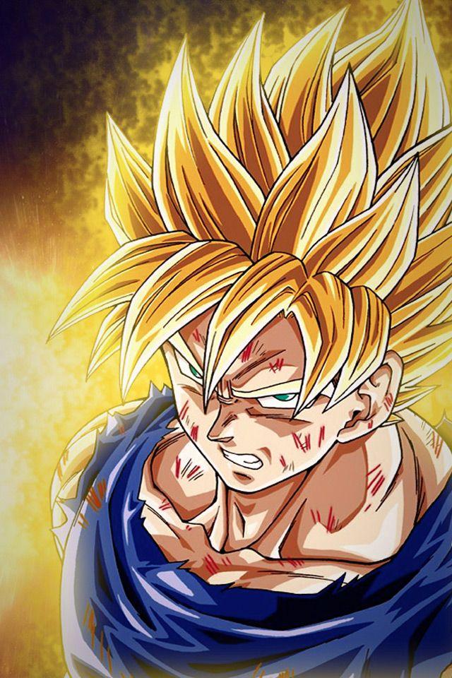 Ball Anime Dragon Goku Saiyan Super Saiyan Goku Dragon Ball