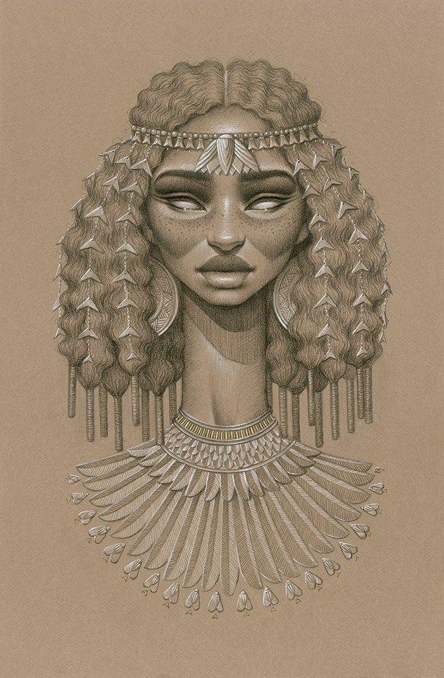 Sundust : dix magnifiques portraits représentant des déesses du soleil