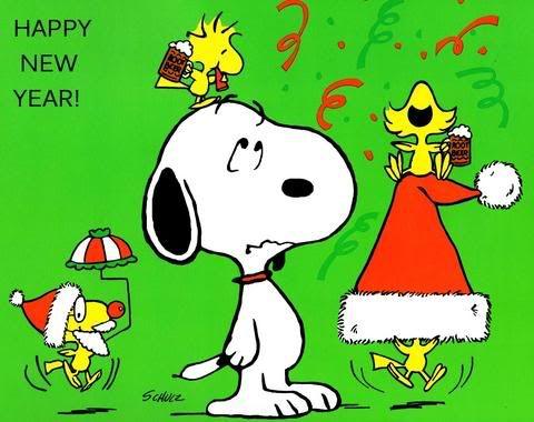 Happy New Year - Snoopy