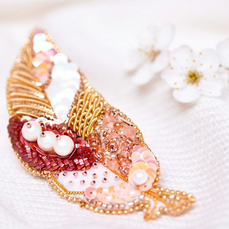 Broches Embroidery Jewelry