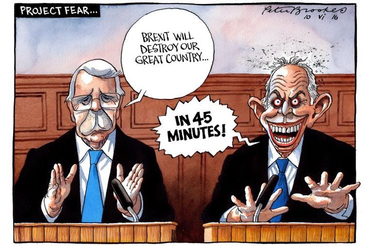 Don't be scared of Project Fear peddled by yesterday's failed politicians...  #brexit #LeaveEU #GrassrootsOut #VoteLeave #BetterOffOut