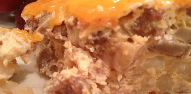 """Crock Pot Breakfast Casserole: A """"Do-Ahead"""" breakfast for holiday mornings or when you have guests."""