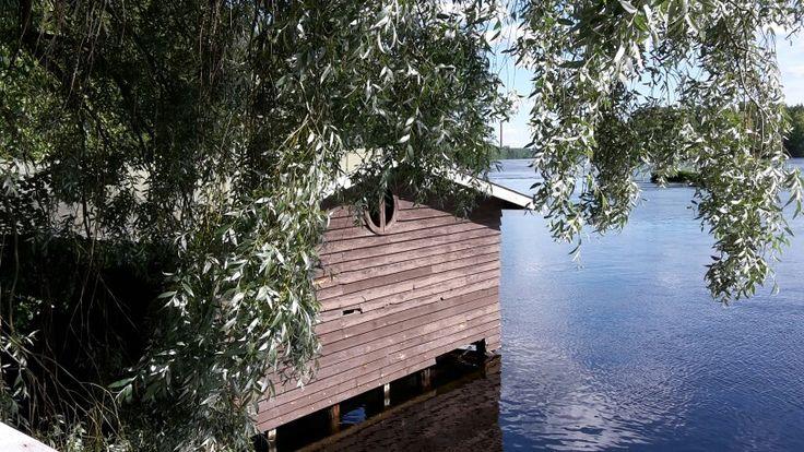 Matonpesupaikka  Kymijoki  Heinola