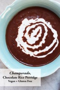If you love chocolate, I hope you give the Champorado recipe a try. It's chocolate goodness in a bowl. It's rich, decadent, sweet, and a mild nutty.