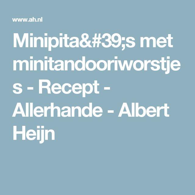 Minipita's met minitandooriworstjes - Recept - Allerhande - Albert Heijn