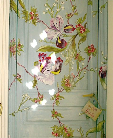 17 Best Images About Stenciled Cabinet Doors On Pinterest