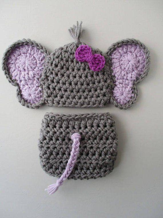 Baby Elephant Fashion Free Crochet Patterns | 760x570