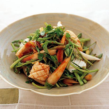 せりといかのナムル   李映林さんのおつまみの料理レシピ   プロの簡単料理レシピはレタスクラブネット