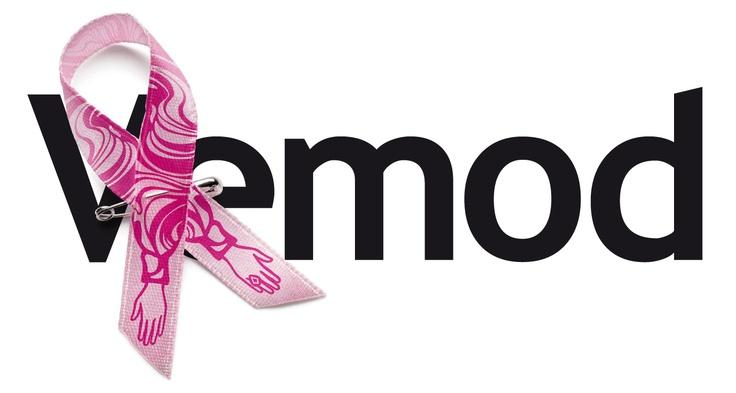 Rosa Bandet skapar mod. Stöd Cancerfondens kamp mot bröstcancer.