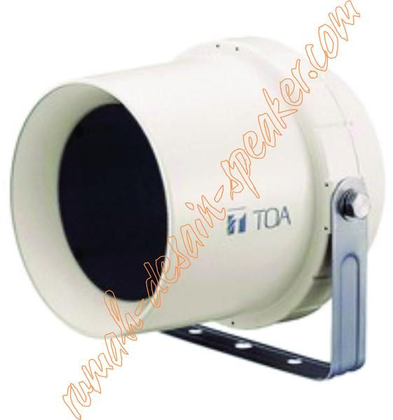 Horn speaker TOA ZS-64  Horn bahan plastik, suara lebih empuk, bisa buat background music dan pengumuman karena menggunakan speaker unit bukan diaphragm/spul. Penggunaan seperti di lorong/selasar, halaman sekolah, pabrik dll. High impedance.  Specifications:  Rated Input	6 W Rated Impedance	100 V line: 1.7 k (6 W), 3.3 k (3 W), 10 k (1 W) 70 V line: 830 (6 W), 1.7 k (3 W), 3.3 k (1.5 W), 10 k (0.5 W) Sensitivity	96 dB (1 W, 1 m) Frequency Response	130 - 13,000 Hz Speaker Component	12 cm…