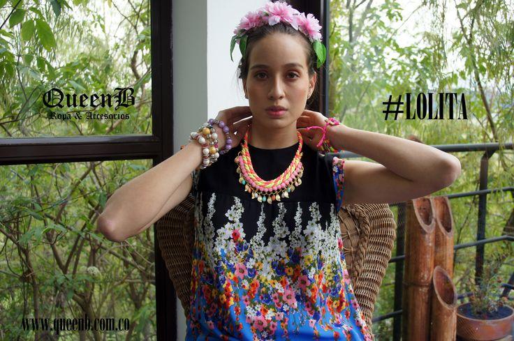Ya esta completa nuestra nueva colección #LOLITA Spring 2015, la encuentras en www.queenb.com.co y www.facebook.com/queenb.moda
