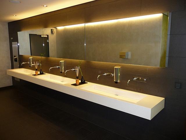 19 best images about office restrooms on pinterest for Office bathroom design
