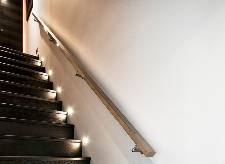 Clairage int rieur escaliers niches lumineuses for Led eclairage interieur