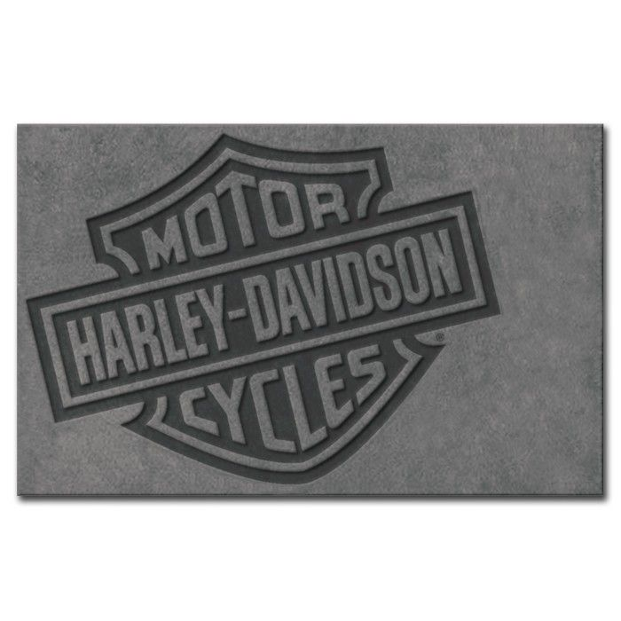 Harley Davidson 174 Bar Amp Shield Large Area Rug Harley