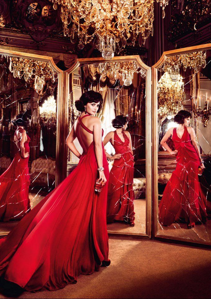"Penélope Cruz Tempts Fate For Campari's Red-Hot 2013 Calendar: Penélope Cruz acted out the ""broken mirror"" superstition for Campari's 2013 calendar."