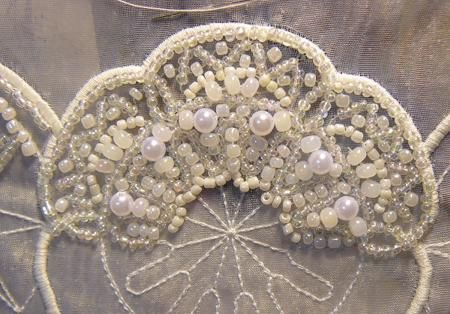 Free Bead Embroidery Patterns | air dry step five hand stitch beads sequins crystals seed pearls or ...