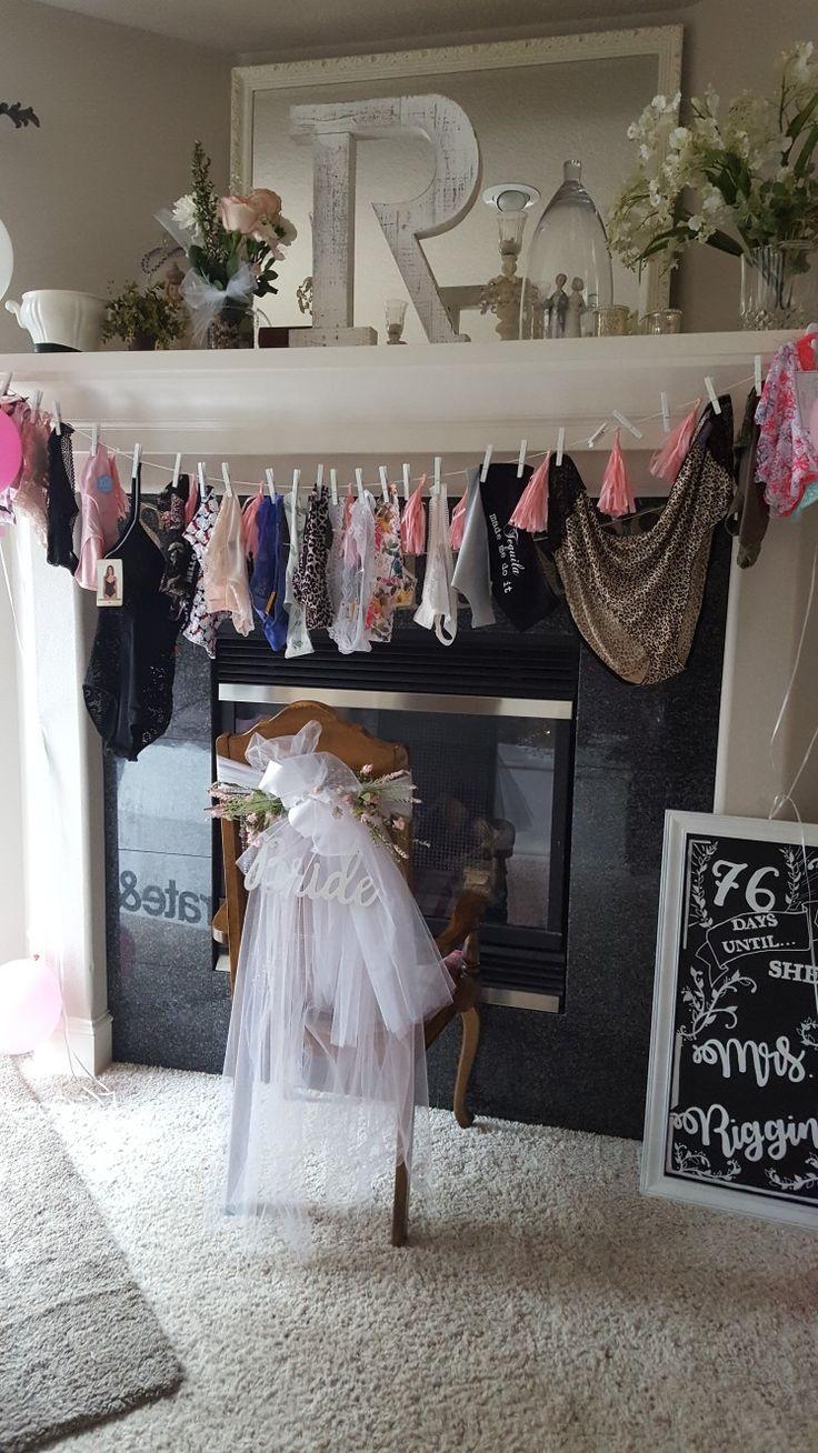 Bridal shower panty game | Bridal shower en 2019 | Despedida de soltera, Despedida y Soltero