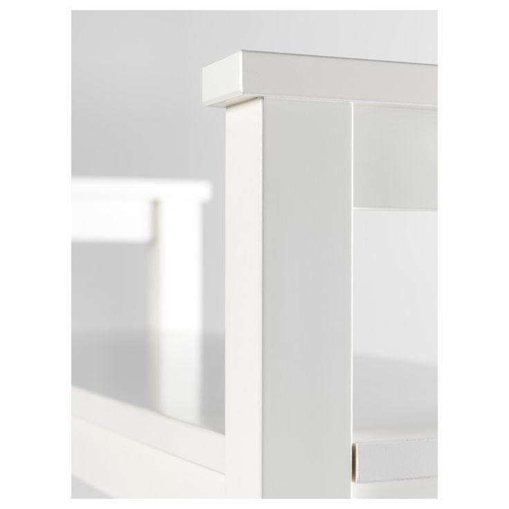 IKEA - HEMNES Bench with shoe storage white