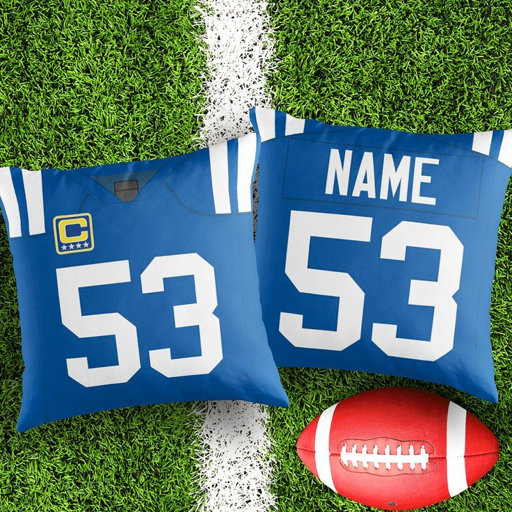 Personalised Indianapolis Colts decorative Cushion Cover Fan inspired product Gift for boyfriend american football