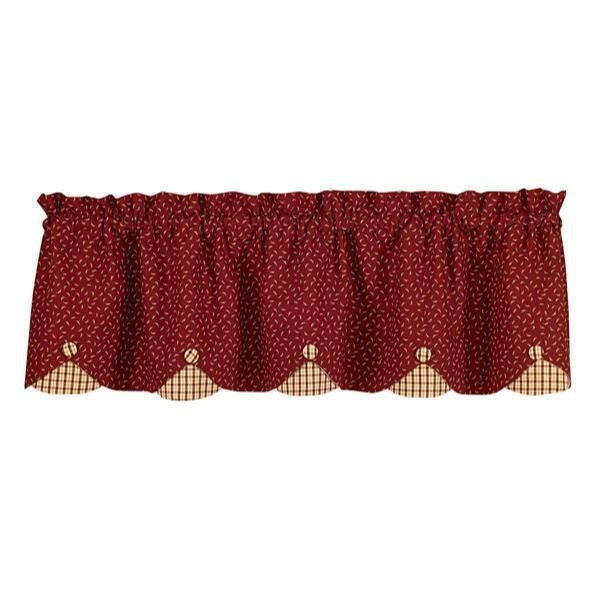 Apple Jack Valance - Layered. Country Kitchen ... - 23 Best Kitchen Curtains Images On Pinterest Kitchen Curtains