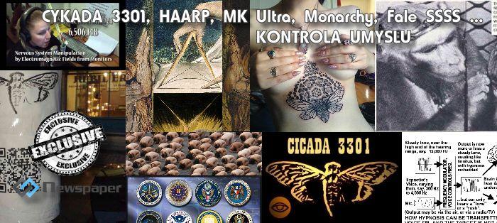 Projekt Cykada 3301 , MK Ultra, Monarchy, HAARP i powszechna kontrola umysłu.