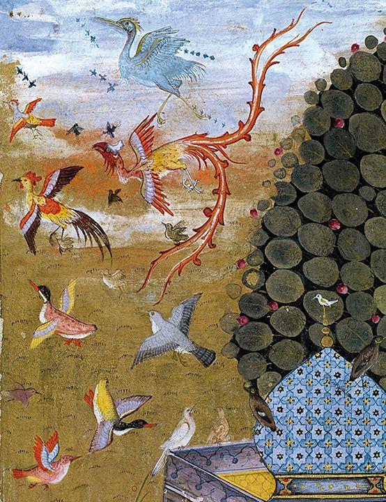le cantique des oiseaux, simorgh