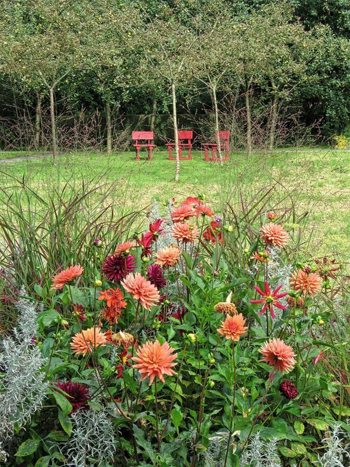 Mien Ruys garden in Dedemsvaart