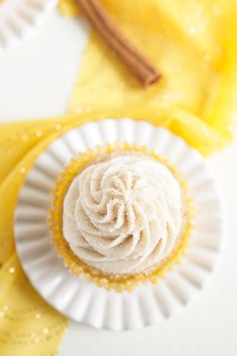 Diese Snickerdoodle Cupcakes sind alles, was Sie an dem klassischen Zimt lieben …