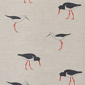 Bird Collection | Oyster Catcher - Classic Collection - Fabric - Emily Bond England