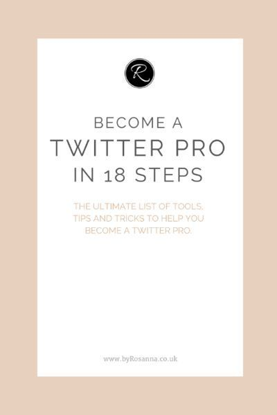 Become a Twitter Pro in 18 Steps!