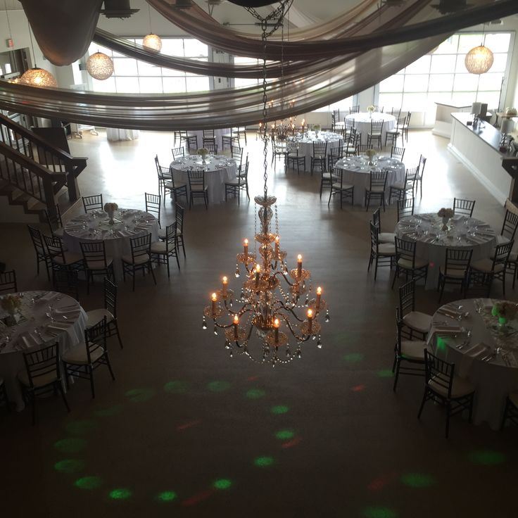 Reception with large dance floor