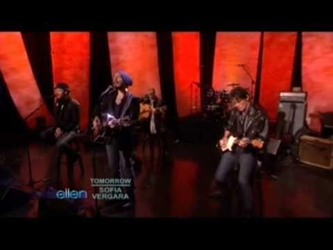 Matt Morris & Justin Timberlake Duet on Ellen - bloodline