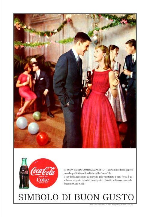 - Coca-Cola-Buon Gusto -Milano 1958